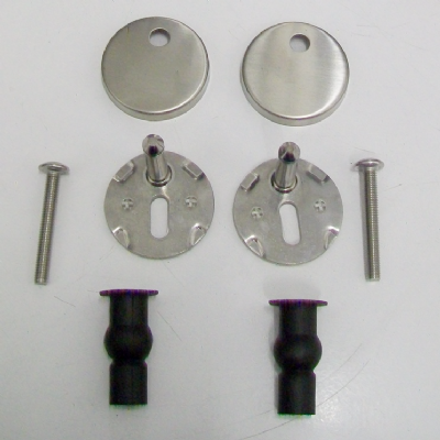 Top Fix Toilet Seat Clip On Peg Hinge Kit - 03062143